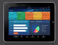 Hybrid App - UX Design & Wireframes