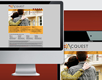 Website/splash page :: Acquest Financial Services