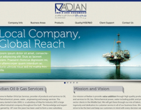 Radian Website Mock Design