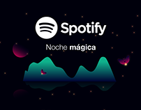 Spotify: Noche mágica