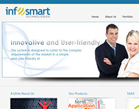 Infosmart Technologies Website Design