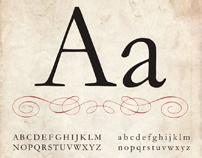 Type Specimen Poster - Garamond