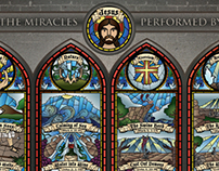 Info Graphic - The Miracles Performed By Jesus