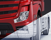 Mercedes-Benz Actros RED