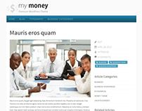 My Money Free WordPress Theme