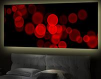 fineArt No. 2 - Wandbild red lights