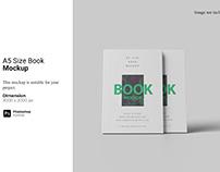 A5 Size Book Mockup