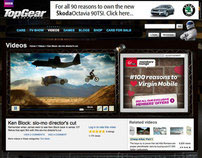 Top Gear Videos section