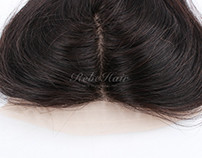 Straight 4*4inch Top Closure With Silk Top