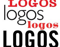 a smorgasbord of logos
