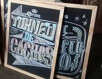 Pizarras refugio Corona, Junio 2014