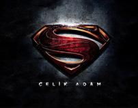 Man Of Steel Poster(Turkish)