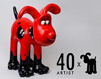 Gromit Art Collaboration by Jaein Park