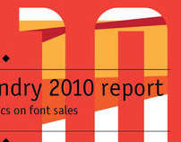 Koval Type Foundry 2010 sales report
