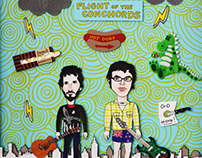 Flight of the Conchords Shadowbox