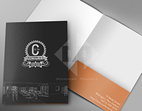 Crafters & Co. Folder Design and Mockup