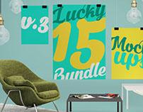 Lucky 15 Bundle vol.3 – 15+ Mock-up Items