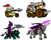 """[Game] """"WarTime"""" prototype (Static Characters)"""