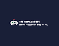 Interactive Web Site made with Webflow — The HTML5 Bot