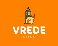 Diseño de marca para Vrede Seeds