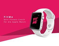 Fit.Me - Apple Watch Fitness App Concept