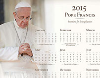 2015 Pope Francis' prayer intentions calendar