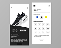 Adidas Application #_thedesignproject Day 08 / 30
