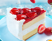 Food Advertising Retouch, Photography Strawberry King
