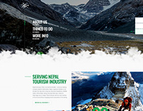 Web design for trekking agencies