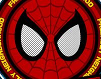 SPIDER-MAN GRAPHIC ART PRINT