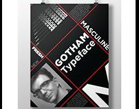 Gotham Typeface Specimen Poster