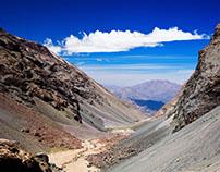 Valles Cordilleranos en los Andes Centrales