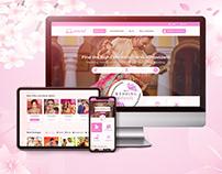 Wedding Service landing page UI/UX Design