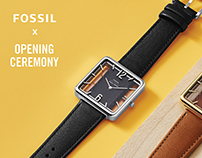 Fossil X Opening Ceremony Watch