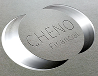 Cheno financial. Simple logo design