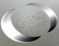Cheno financial. Simple logo design