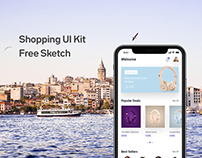 Shopping App Free UI Kit