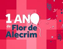 Campanha 1 Ano - Flor de Alecrim Cosméticos