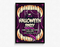Halloween Illustration Poster