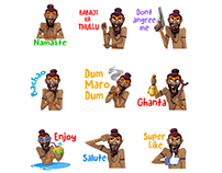 BABAJI STICKERS for 9apps