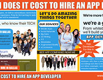 How Much Does It Cost To Hire An App Developer