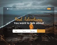 Travel Web Landing Page