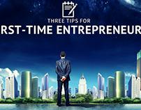 3 Tips for First-Time Entrepreneurs