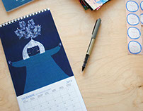 Illustrated Calendars / Calendarios Ilustrados