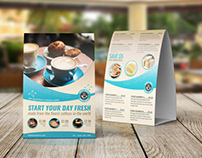 Cafe and Restaurant Table Tent Vol.7