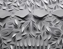 Minimalist Papercut Illustrations