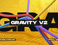 Gravity V2 | Social Media Pack