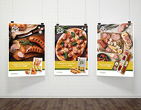 Poster design for food company