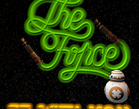 May the Force Be With You (Animación 3D)