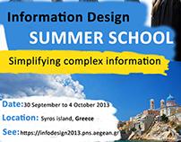 Information Design Summer School - Poster (2013)